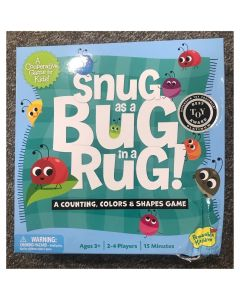 Snug as a Bug in a Rug - Peaceable Kingdom Cooperative Game - Damaged Box