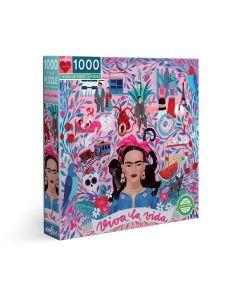 Eeboo Viva La Vida 1000 + Piece Family Puzzle