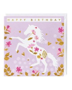 """Golden Hooves"" Birthday Card"