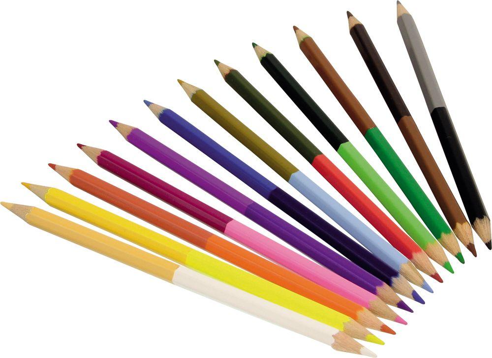 Double Ended Colouring Pencils - Avenue Mandarine